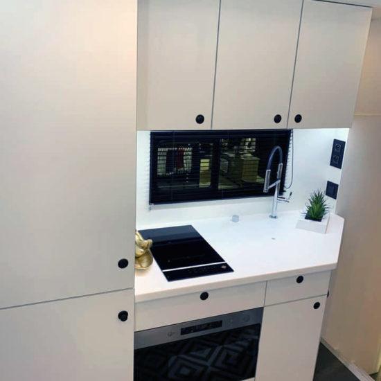table – plan de cuisine – Staron – BF PRO