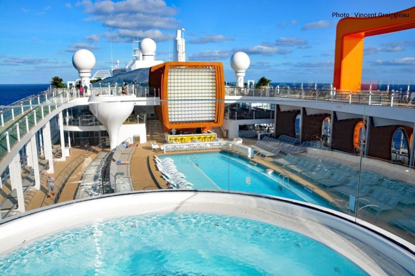 Spa – Corian – bateau de croisière – BF PRO