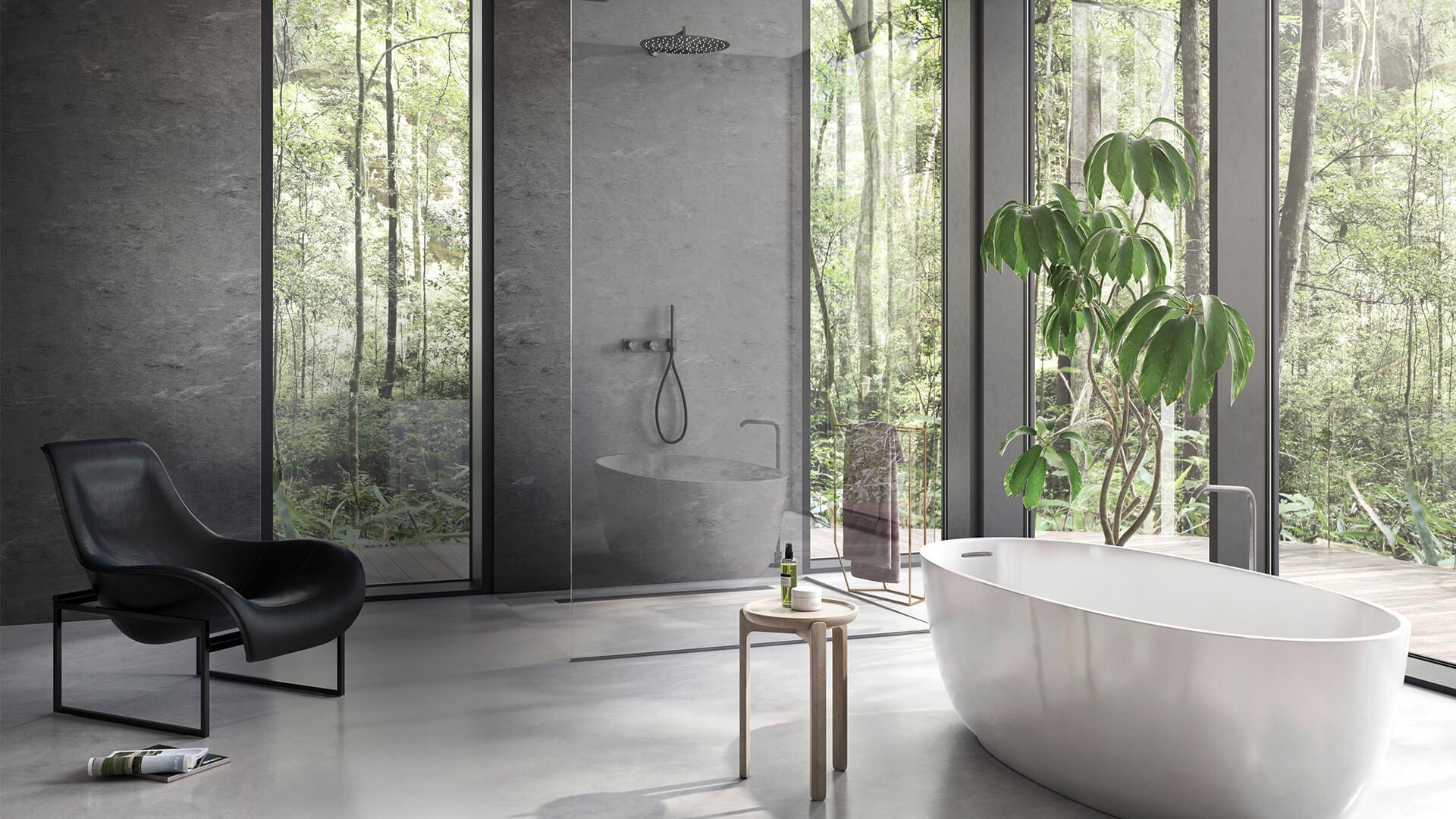 Salle de bain Corian - BF PRO